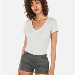 NWT PLUS SIZE low rise twill trouser Short